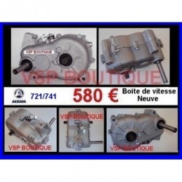 BOITE DE VITESSES AIXAM 400 L-S-SL (580 € TTC neuve) (PONT INVERSEUR)