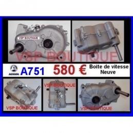 BOITE DE VITESSES AIXAM A751 (580 € TTC neuve) (PONT INVERSEUR)