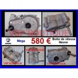 BOITE DE VITESSES AIXAM 400.4 (580 € TTC neuve) (PONT INVERSEUR)