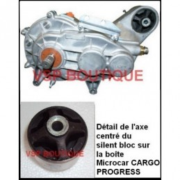 BOITE DE VITESSES MICROCAR CARGO DCI  599 € neuve (PONT INVERSEUR) MC112