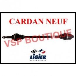 CARDAN / TRANSMISSION LIGIER AMBRA (droit) radiateur devant ( NEUF)