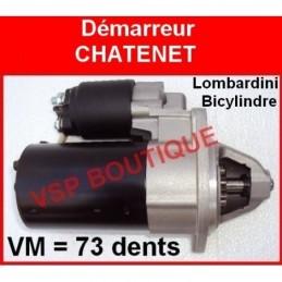 DEMARREUR AIXAM 300  /325 i KUBOTA MONOCYLINDRE (99 € = NEUF) AVANT 1996