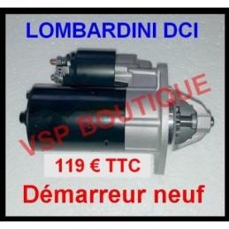 DEMARREUR JDM LOMBARDINI...